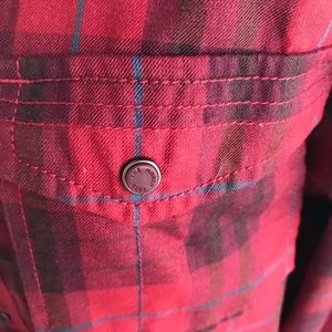 The North Face Shirts - Men's The North Face Red Plaid Flannel Shirt